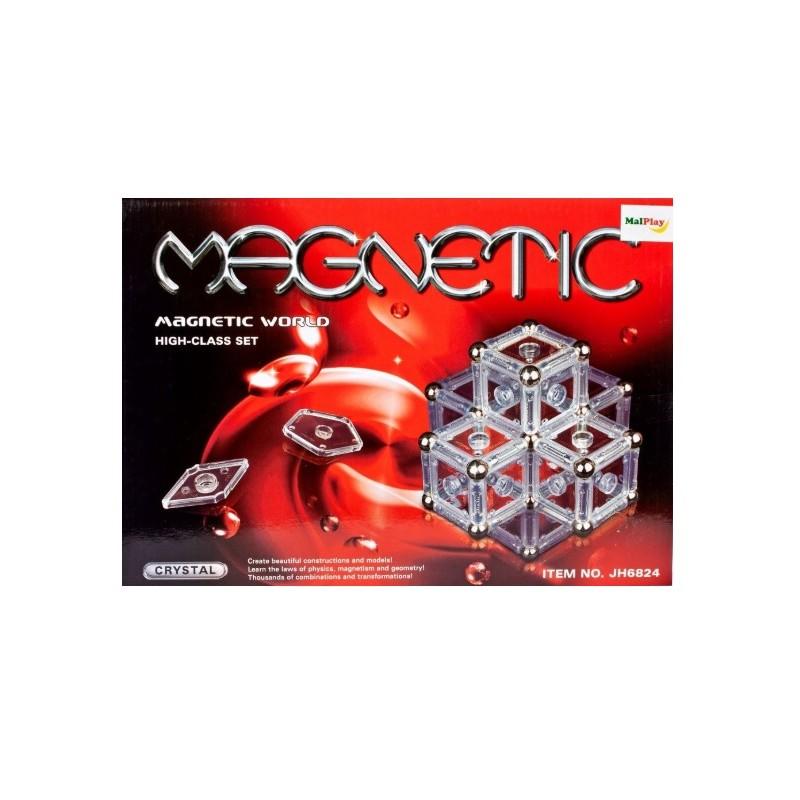set-de-constructie-magnetic-crystal-84-piese